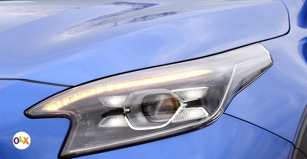 Dnevna LED svjetla i LED bifunkcionalna svjetla standardna su u paketu opreme EX Flow