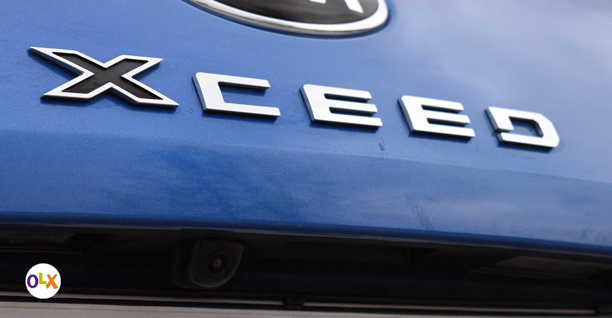 Kamera koja olakšava vožnju prema nazad je standardna oprema na XCeedu EX Flow.